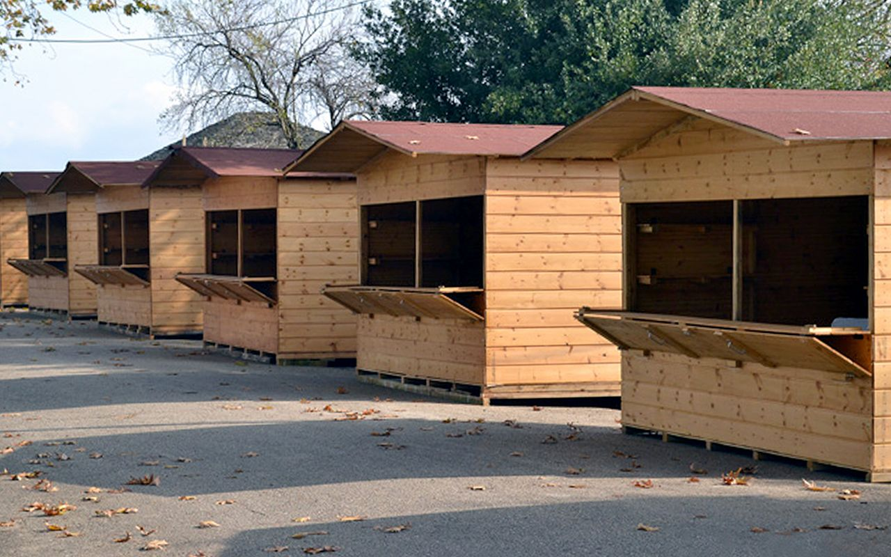 d4876b292560 Small wood cabins - PROVOLI EXPO